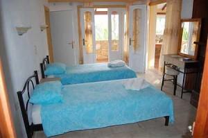 Zimmerbeispiel Zwei-Zimmer-Appartement Sofia auf Korfu